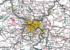 North Pittsburgh PA Map