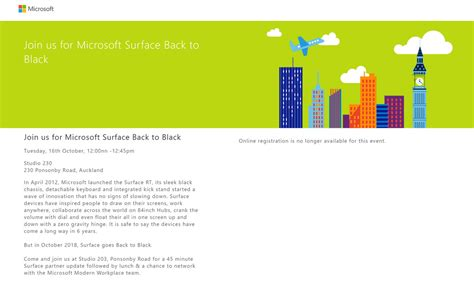 microsoft confirms surface is going back to black the verge