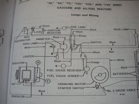Deere 520 Wiring Diagram by 520 Coil Wiring With A Pertronix Deere Forum