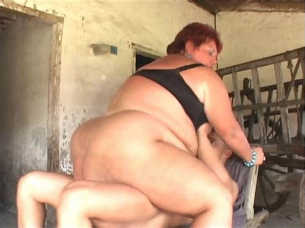 #Fat #Granny #Drilled #Hard #By #A #Young #Stud