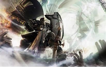 Diablo Reaper Iii Souls Crusader Templar Wallpapers