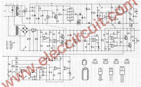 dc switching power supply circuit project