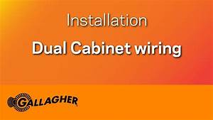 Dual Cabinet Wiring