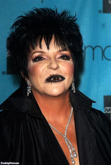 liza minelli eye mouth pictures freaking news