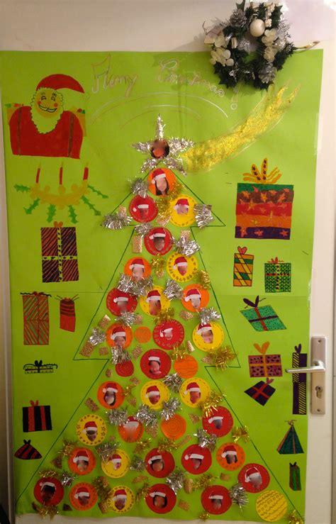 decoration porte noel