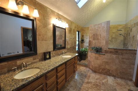 Amazing Of Excellent Bathroom Designs With Stone Showers #2481