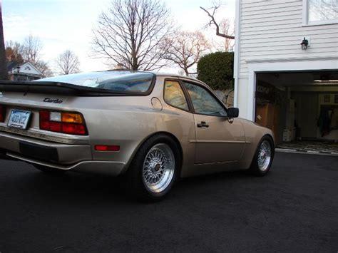 porsche 944 silver gold porsche 944 turbo on silver 16 bbs rs bbs rs zone