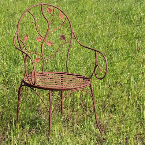 chaise metal jardin objet deco jardin fer forge fashion designs