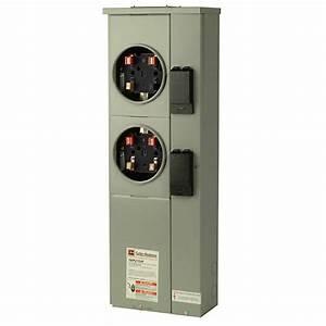 Eaton 125 Amp Dual Ring Meter Socket-1mp2122r