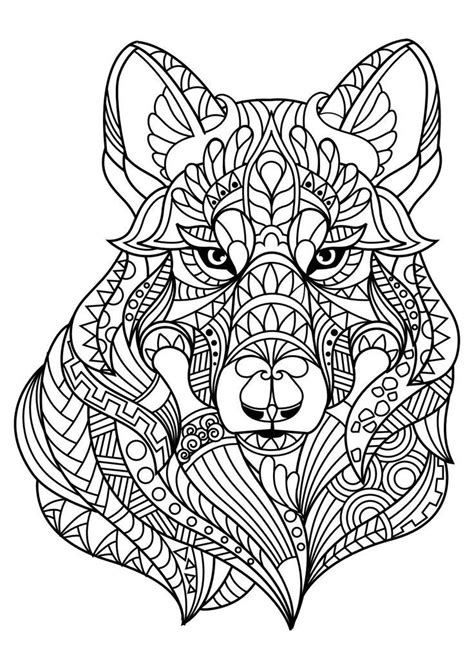 animal coloring pages pdf adult coloring book animals