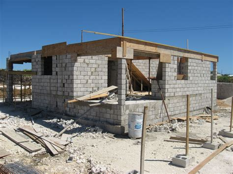 house building advice for home owners cement concrete and block wall