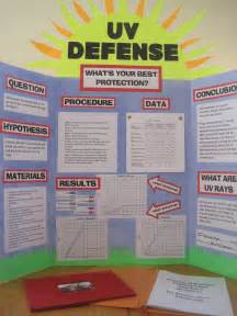 Science Fair Project Board