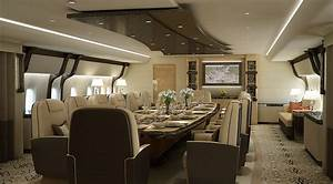 Greenpoint Boeing 747-8 Private Jet - Dining Forward ...