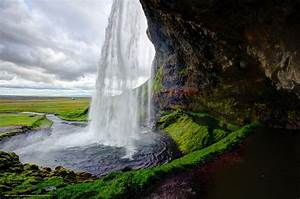 Desktop Waterfall Iceland | Download wallpaper ...