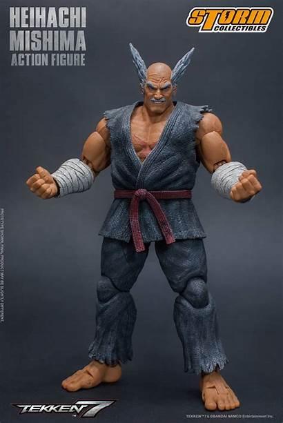Tekken Heihachi Mishima Storm Collectibles Action Figure