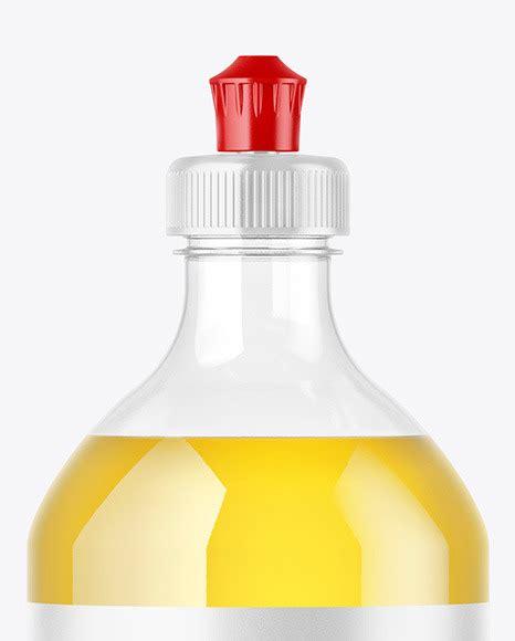 Plastic dropper bottle/ paper box mockup. Clear Plastic Bottle with Squeeze Cap Mockup in Jar ...
