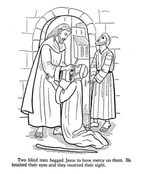 coloring pages  peter  john heal  lame man coloring home