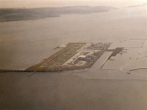 kansai international airport sinking rate bird s eye view osaka kansai kix