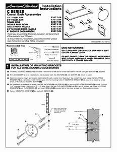 Installation Instructions C Series Casual Bath Accessories