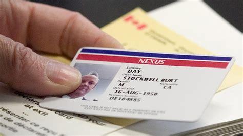 nexus application form canada apply for a nexus card nexus card