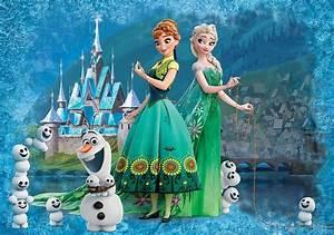 Buy Elsa & Anna wall murals for wall | Homewallmurals.co.uk