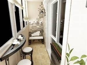 Balkon Bank Klein : kleinen balkon gestalten interessante interior design ideen ~ Michelbontemps.com Haus und Dekorationen