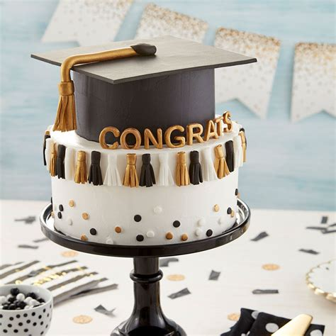 graduation tassel cake wilton