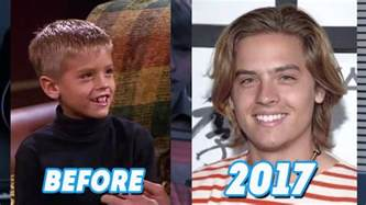 the suite life of zack and cody then and now 2017 youtube