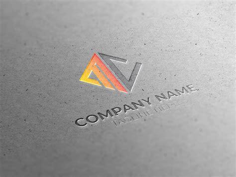 initial mc letter logo design  graphicsfamily