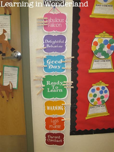 Classroom Management Ideas  Learning In Wonderland