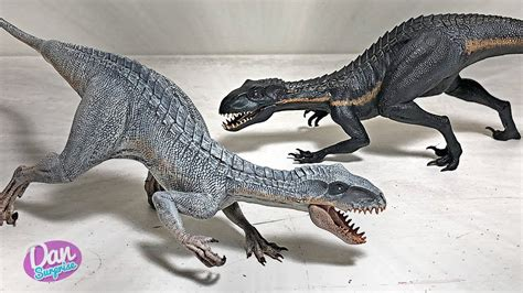 white indoraptor   indoraptor inspired figures
