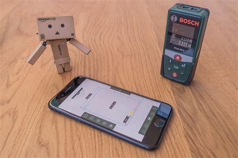 bosch plr   laser entfernungsmesser mit app