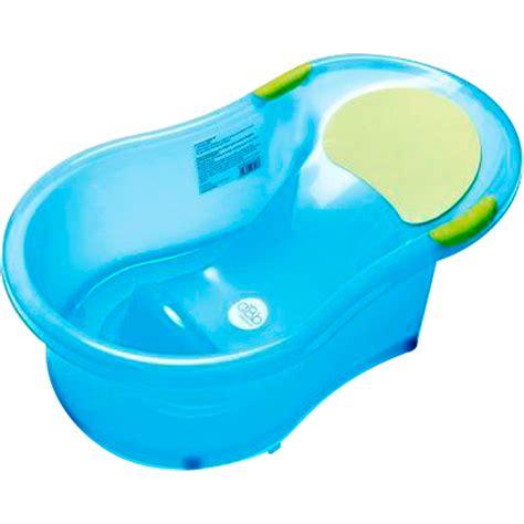 baignoire bébé avec siège intégré baignoire bébé 0 6 mois transat intégré bleu translucide