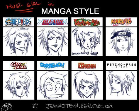 Mugi-girl In Manga Styles! By Jeannette11 By Jeannette11