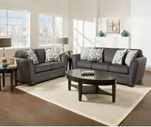 Living Room Collection by Simmons Flannel Charcoal Living Room Furniture Collection Big Lots