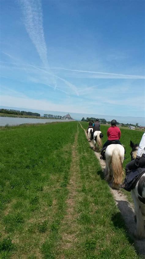 la baie du mont michel 14 17 ans bretagne 224 cheval