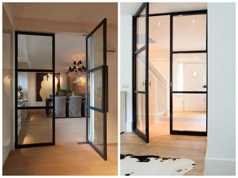 portes cuisine porte cuisine vitre cloison type atelier sparation pour