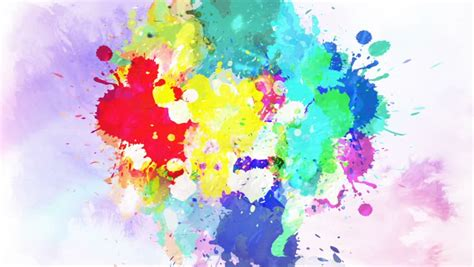 colorful ink drop in water stock footage video 100