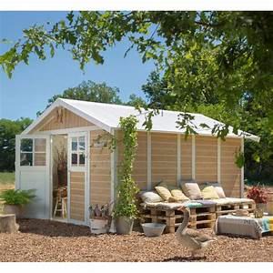 Abri De Jardin En Pvc : abri de jardin en pvc 11 2m deco sherwood grosfillex ~ Edinachiropracticcenter.com Idées de Décoration