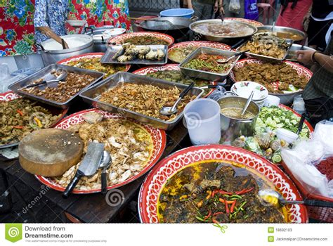 cuisine thaï food in stock image image