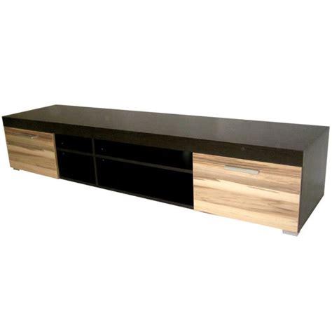 meubles de cuisine discount meuble tv bois noir et chêne atlanta achat vente meuble tv meuble tv bois noir et chên