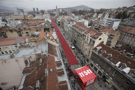 siege of sarajevo 39 line of blood 39 11 541 chairs symbolize the victims