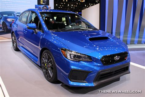 subaru blue 2017 chicago auto show photo gallery see the cars subaru