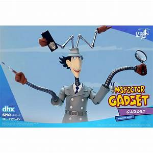inspector gadget megahero series figure