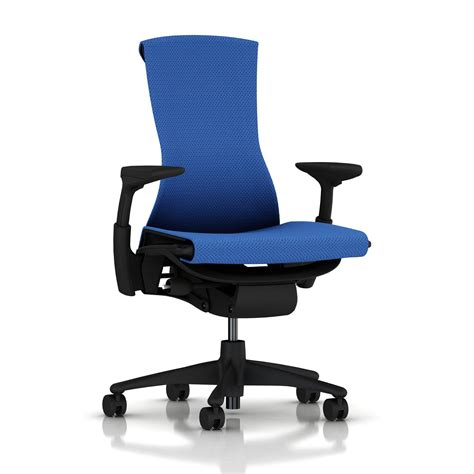 Herman Miller Embody Chair Berry Blue Balance With