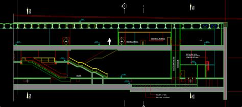 escalators dwg section  autocad designs cad