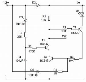 power off delay circuit With power delay circuit