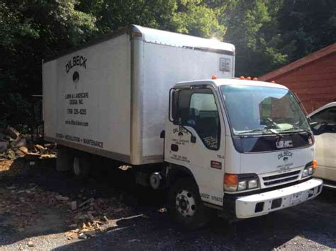 gmc   van box trucks