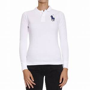 Lyst - Polo Ralph Lauren T-shirt in White