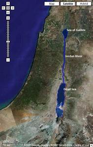 Image Google Map : satellite image from google maps with the sea of galilee jordan river what do you think of ~ Medecine-chirurgie-esthetiques.com Avis de Voitures